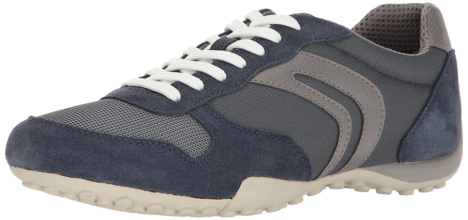 Bleu (Lt Navy griscb41f) Geox hommes Snake C, paniers Basses Homme