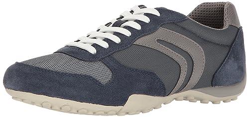 Geox U Box C, Zapatillas para Hombre, Azul, 40 EU