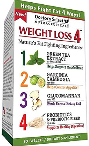 Doctor s Select Weight Loss 4, Tablets 90 ea Pack of 6