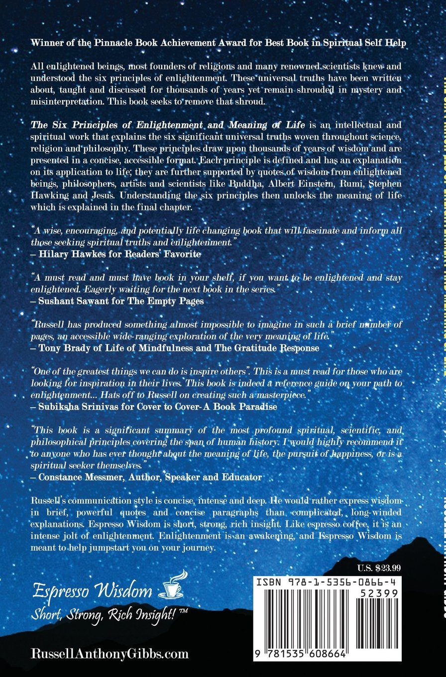 The Six Principles Of Enlightenment And Meaning Of Life The