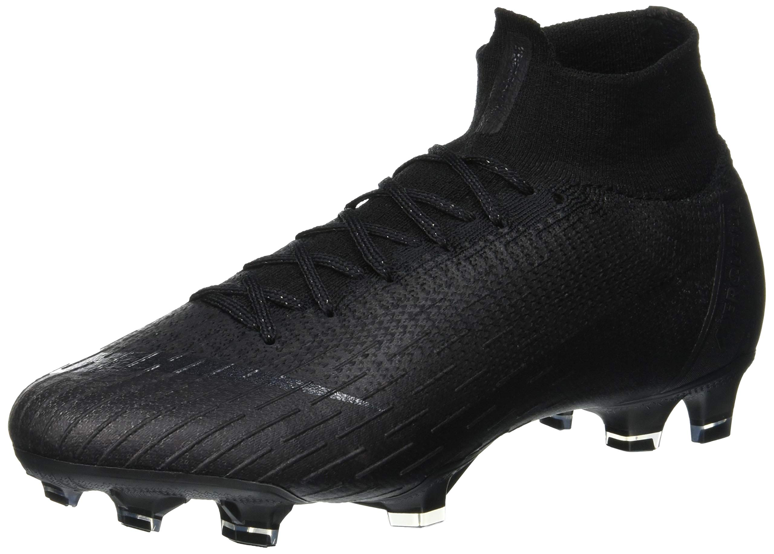 Nike Men's Superfly 6 Elite Fg Low-Top, Black US:5.5