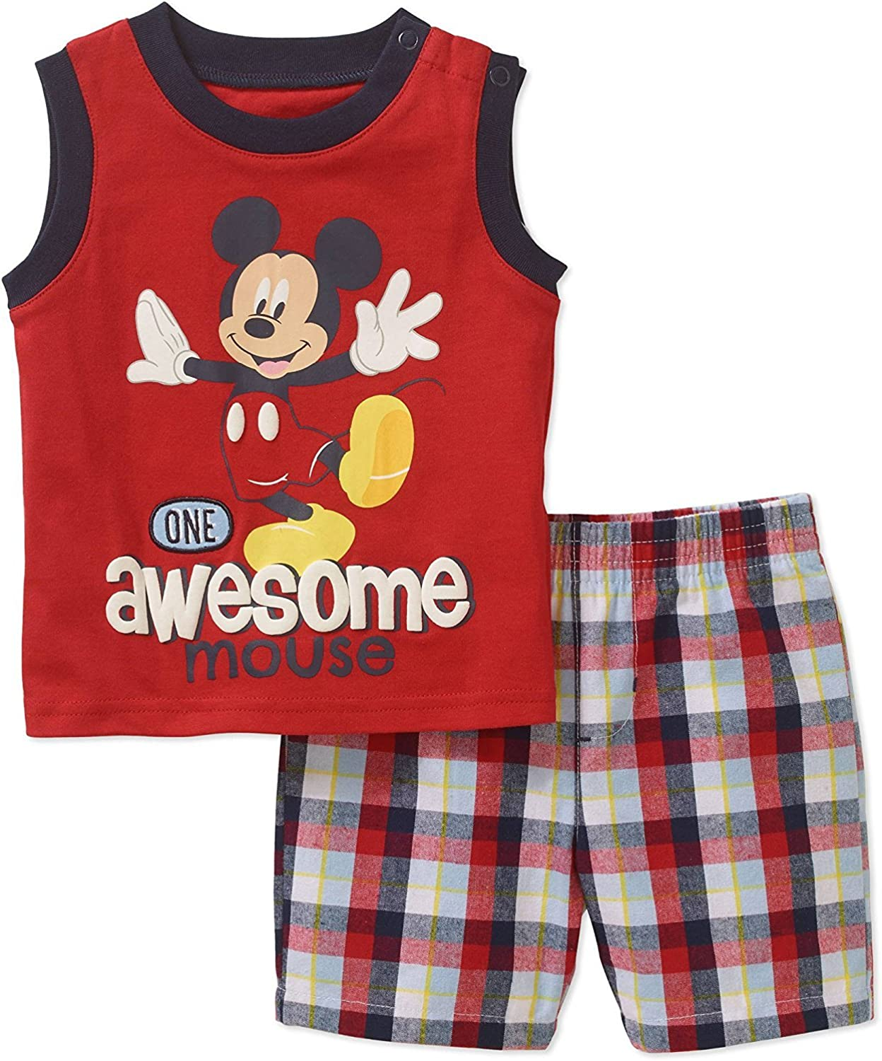 Disney Mickey Baby Short and Top Outfit Cotton