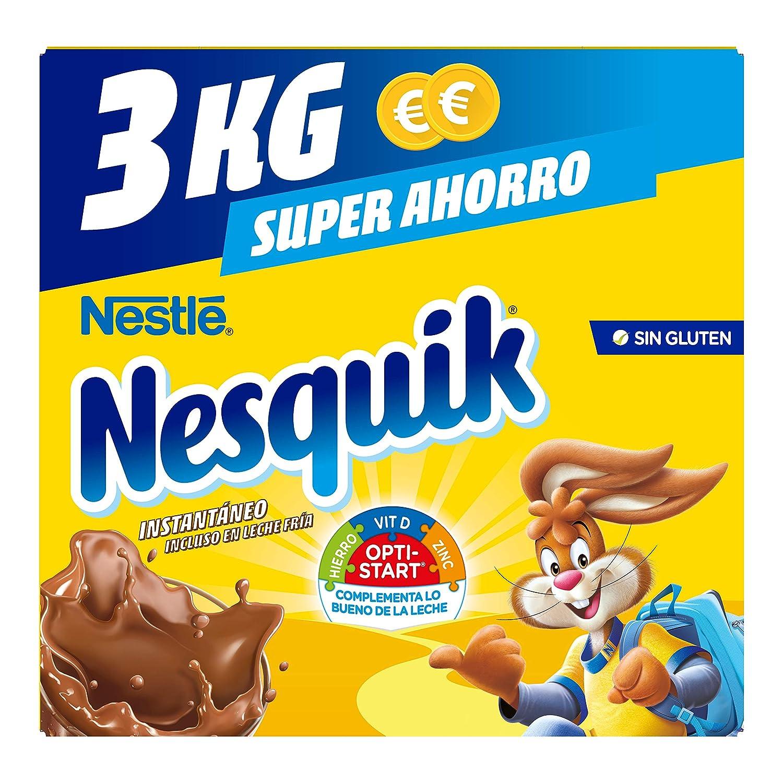 Nestlé nesquik cacao soluble instantáneo 3kg(2x1.5kg): Amazon.es: Alimentación y bebidas