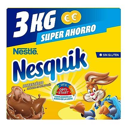Nesquik Nestlé Cacao Soluble Instantáneo - 3000 g: Amazon.es: Amazon Pantry