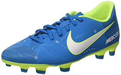 346b5c38473 Nike Men s Mercurial Vortex III Neymar Jr FG Soccer Cleats Blue White (8.5 D