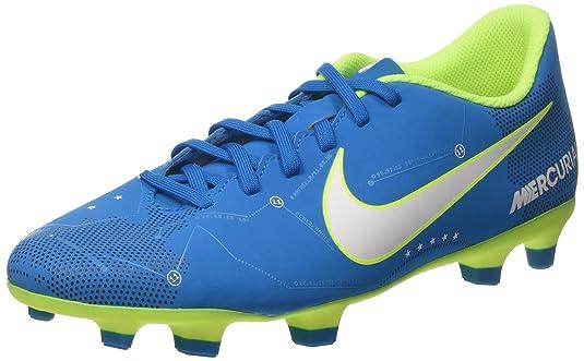 Nike Mercurial Vortex III Neymar FG 921511 4, Zapatillas de Fútbol para Hombre, Turquesa White/Blue Orbit/Armory Navy Volt, 42.5 EU: Amazon.es: Zapatos y ...