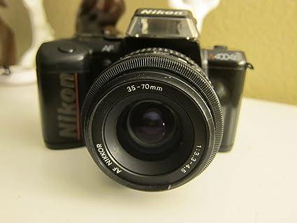 amazon com nikon n4004s auto focus slr film camera camera photo rh amazon com Nikon N4004s Photographer Nikon 35Mm Film Camera