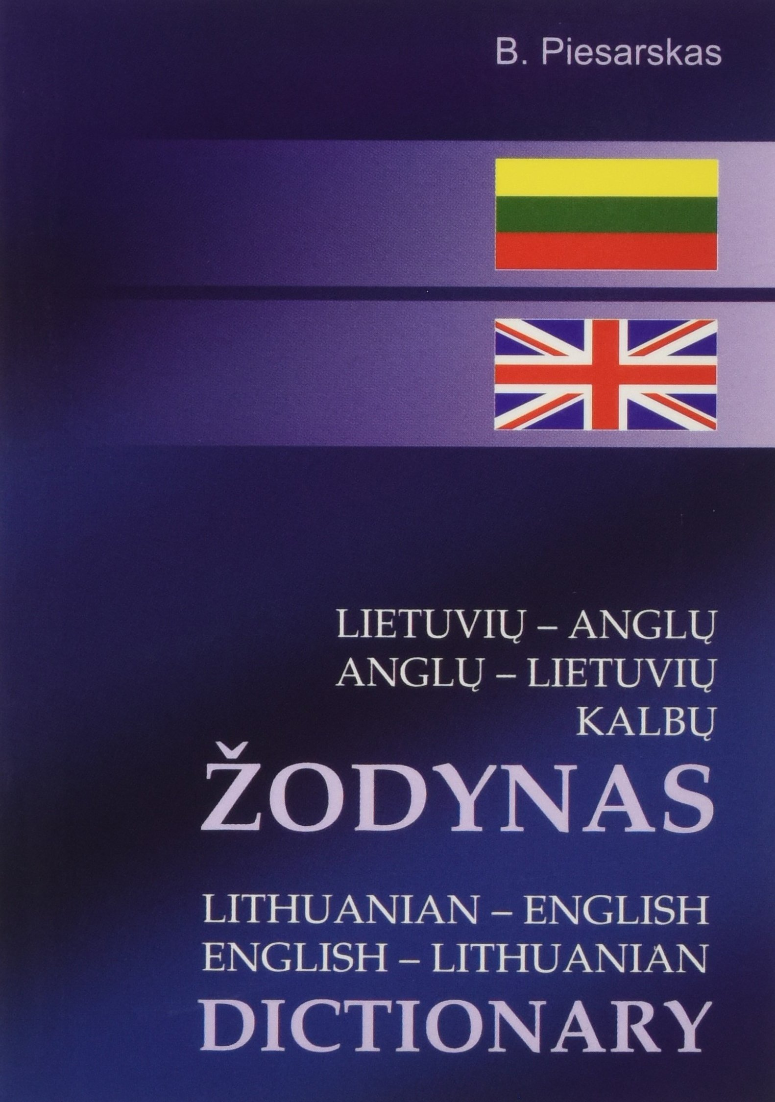 Lithuanian-English//English-Lithuanian Concise Dictionary