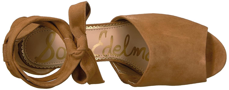Sam Edelman Women's Odele Heeled Sandal B06XFXG4C1 Suede 5 B(M) US|Golden Caramel Suede B06XFXG4C1 332c4b