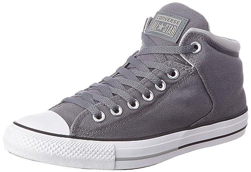 05fc4ff89614b4 Converse Men s Block Party Grey Sneakers - 6 UK India (39 EU)  Buy ...