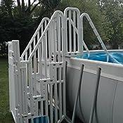Amazon Com Confer Above Ground Pool Step Enclosure Kit