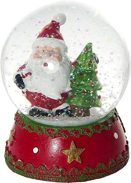 Palla Di Natale Con Foto Digitali.Mousehouse Gifts Palle Di Vetro Globo Di Neve Di Natale Sfera Di Vetro Con Neve Decorativa Di Babbo Natale Amazon It Casa E Cucina