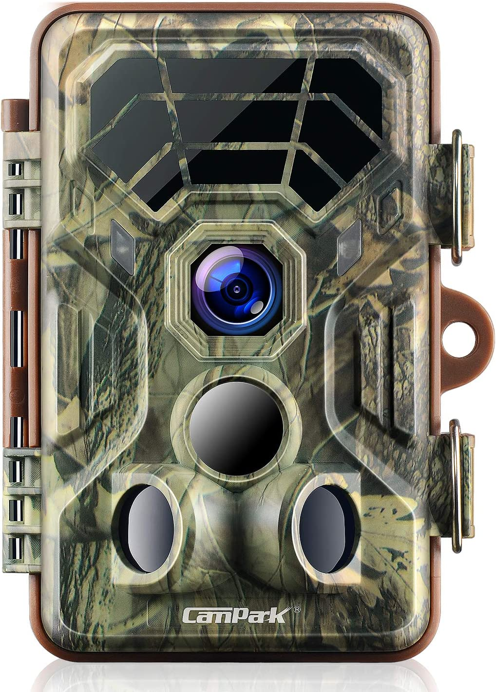 Campark Trail Camera 14MP 1080P IP66 Waterproof Hunting Game Camera for Wildlife Monitoring with 2.4 LCD 120 Detecting Range Motion Activated Night Vision