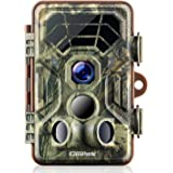 Campark Trail Camera 14MP 1080P IP66 Waterproof Hunting Game Camera for Wildlife Monitoring with 2.4'' LCD 120° Detecting Range Motion Activated Night Vision