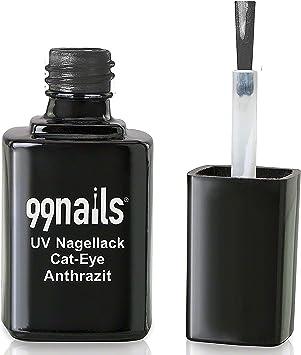99 Nails® UV esmalte de uñas – Cat Eye – Antracita, 1er Pack (1 x 12 ml): Amazon.es: Electrónica