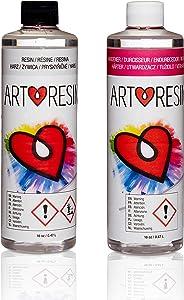 ArtResin - Epoxy Resin - Clear - Non-Toxic - 32 oz (946 ml)