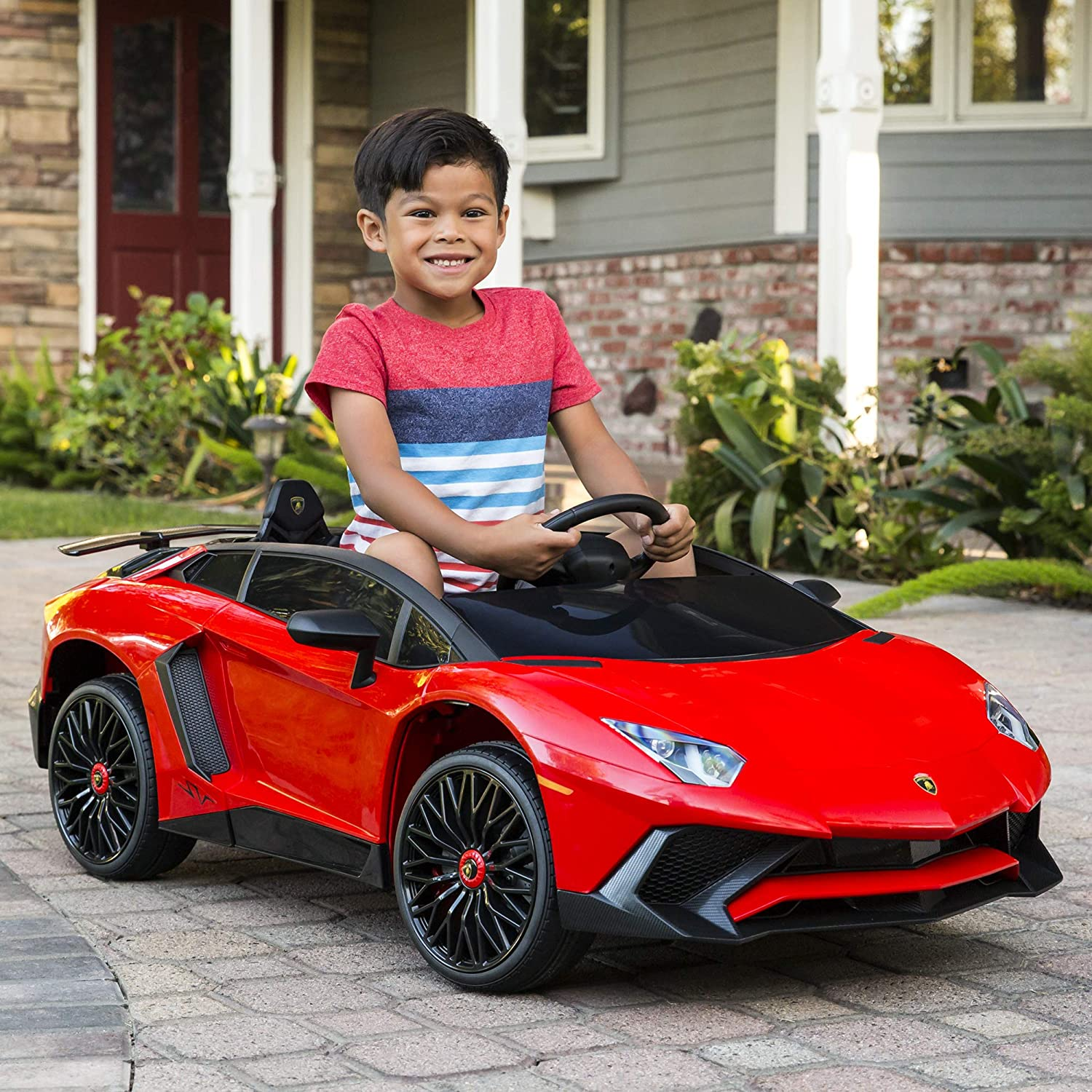 Best Choice Products Kids 12V Ride On Lamborghini Aventador