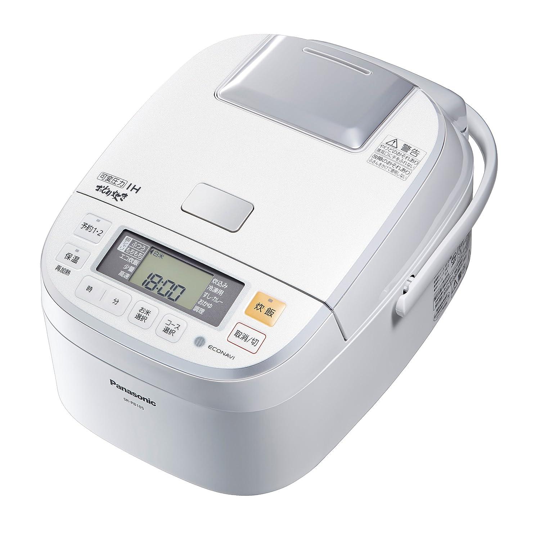 パナソニック 5.5合 炊飯器 圧力IH式 おどり炊き ホワイト SR-PB105-W B00XVJNAO0  5.5合