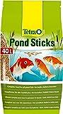 TETRA Pond Sticks - Aliment complet en sticks pour poisson de bassin - 40L