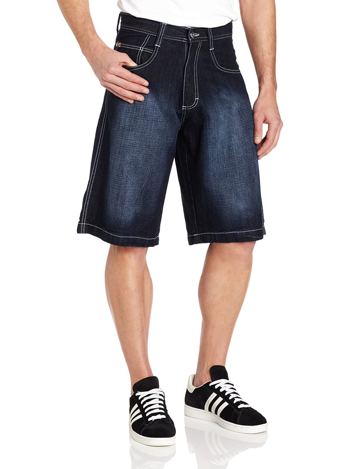 Southpole Men's Big-Tall 4180 Denim Short In Relaxed Fit 9007-3236