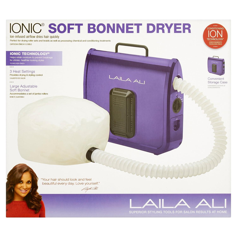 laila ali soft bonnet hair dryer