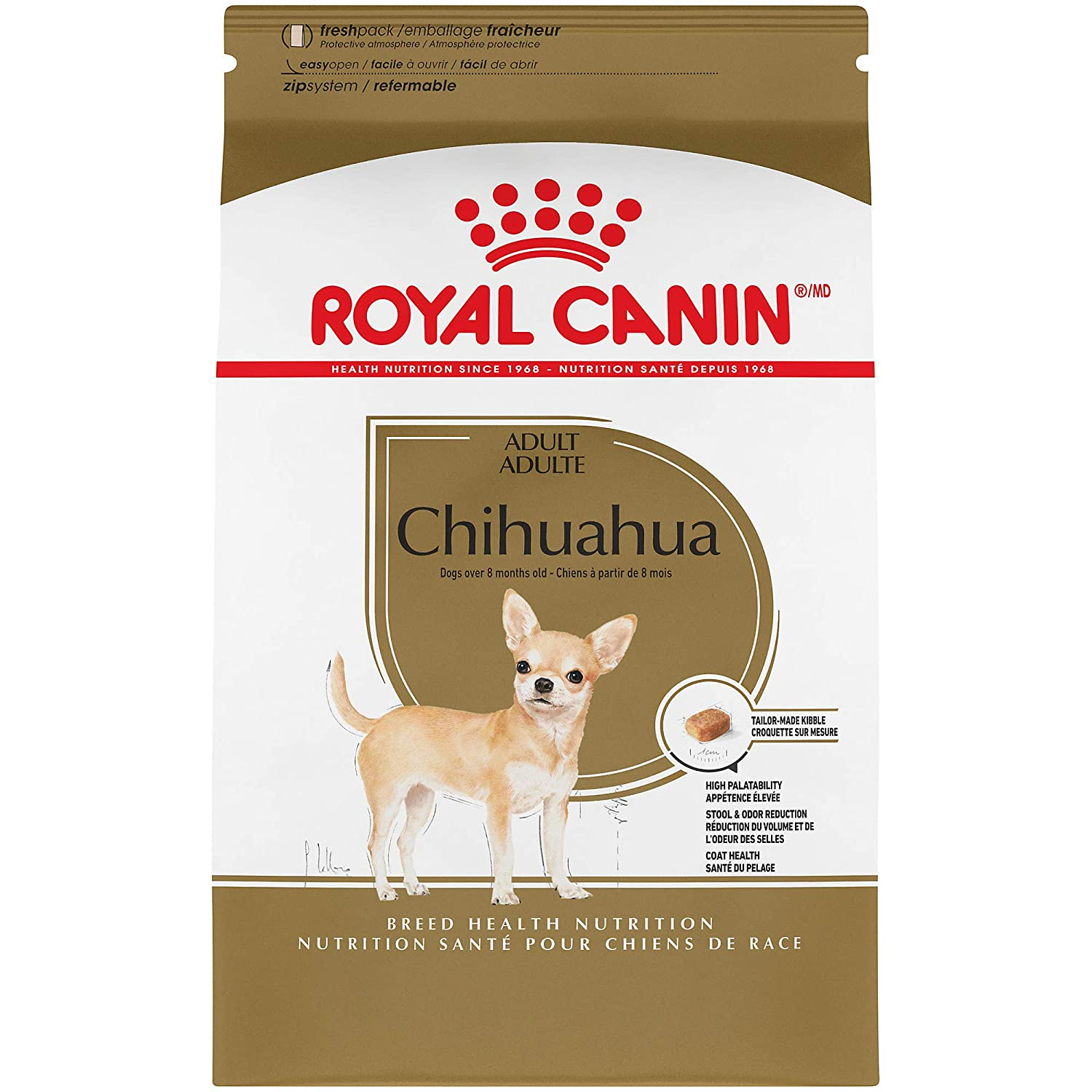 3. Royal Canine Breed Health Nutrition Chihuahua Adult Dry Dog Food
