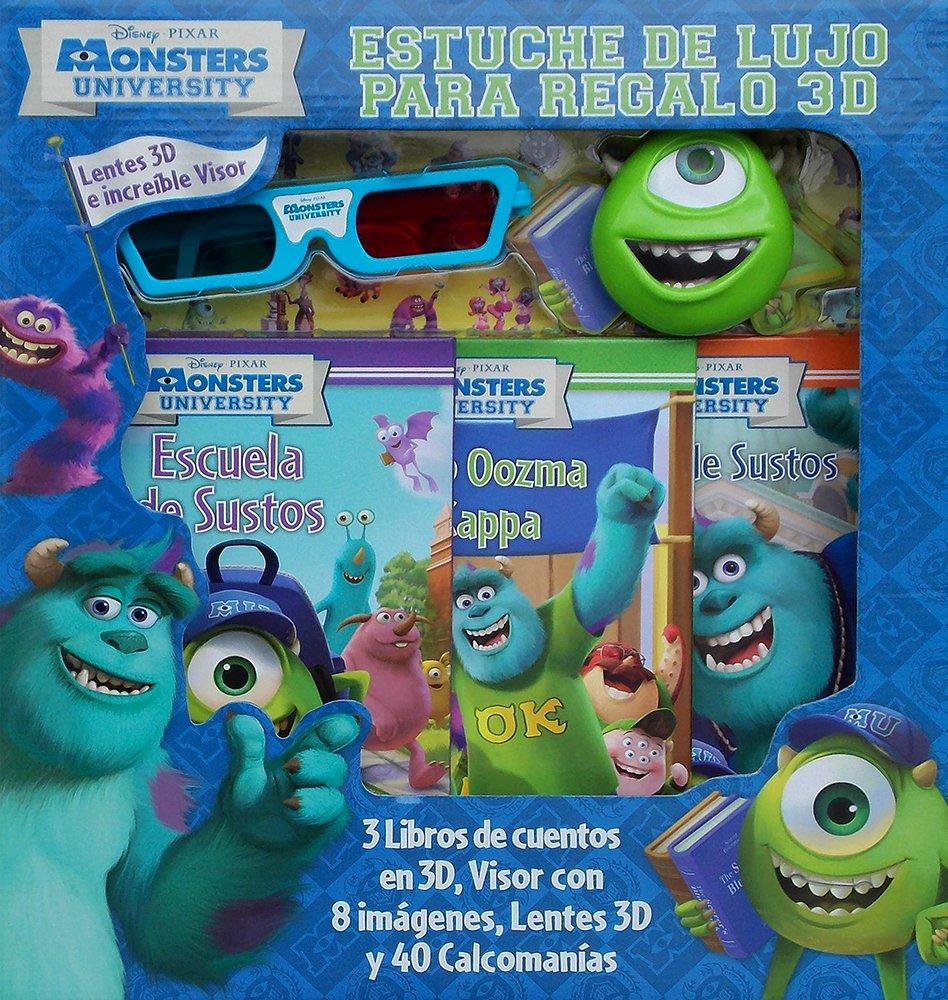Amazon.com: Monsters University: Estuche De Lujo Para Regalo ...