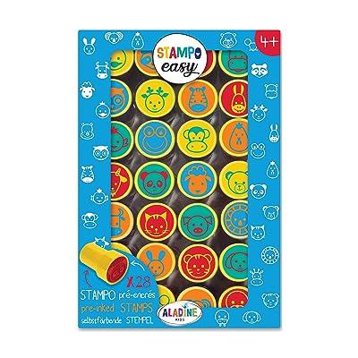 Unbekannt aladine 03627 Stampo Easy Juego de Sellos: Juguetes y juegos