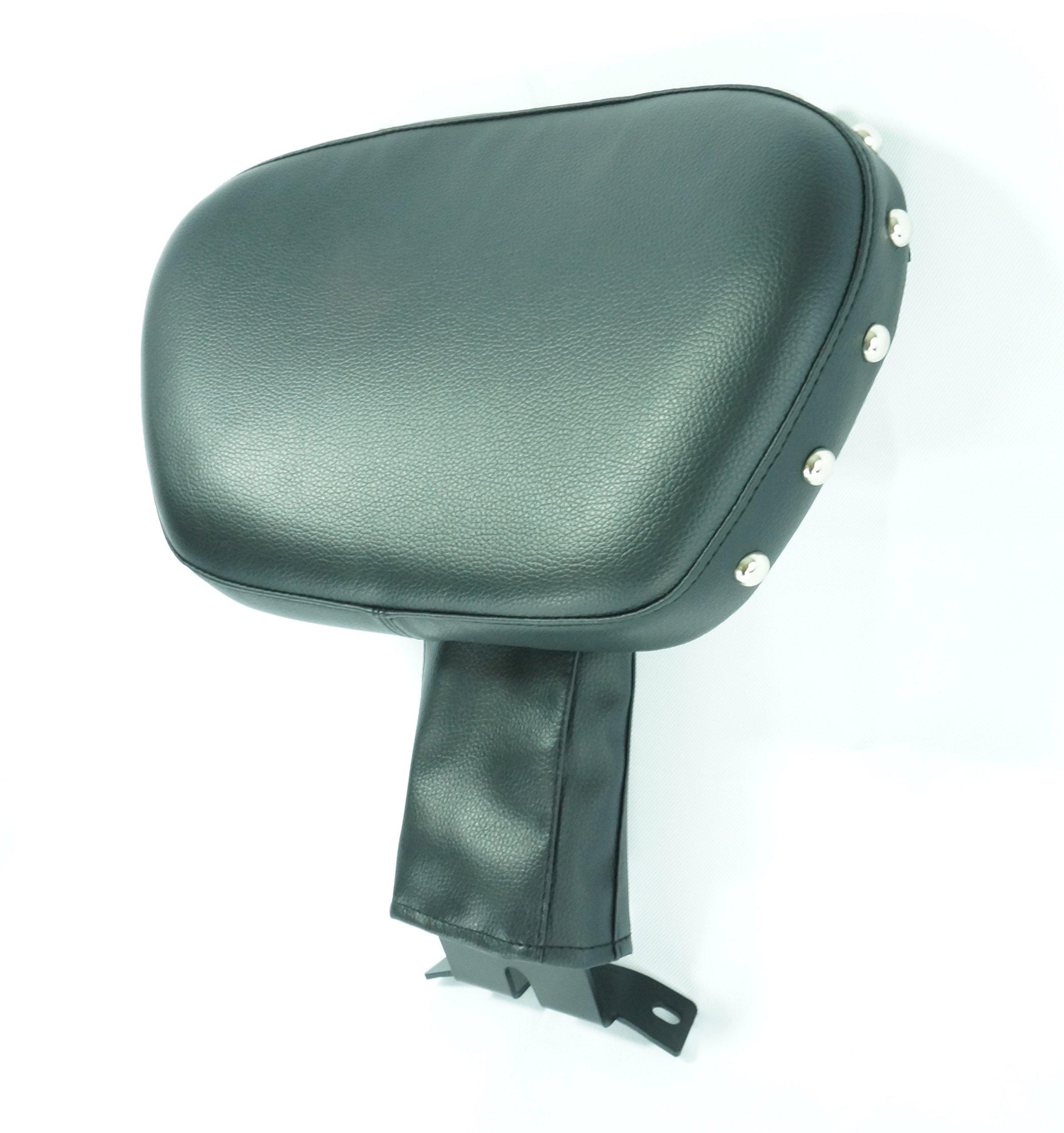 Harley HD Fatboy Heritage Softail Adjustable Rider Driver Stud Backrest(2007-2014)