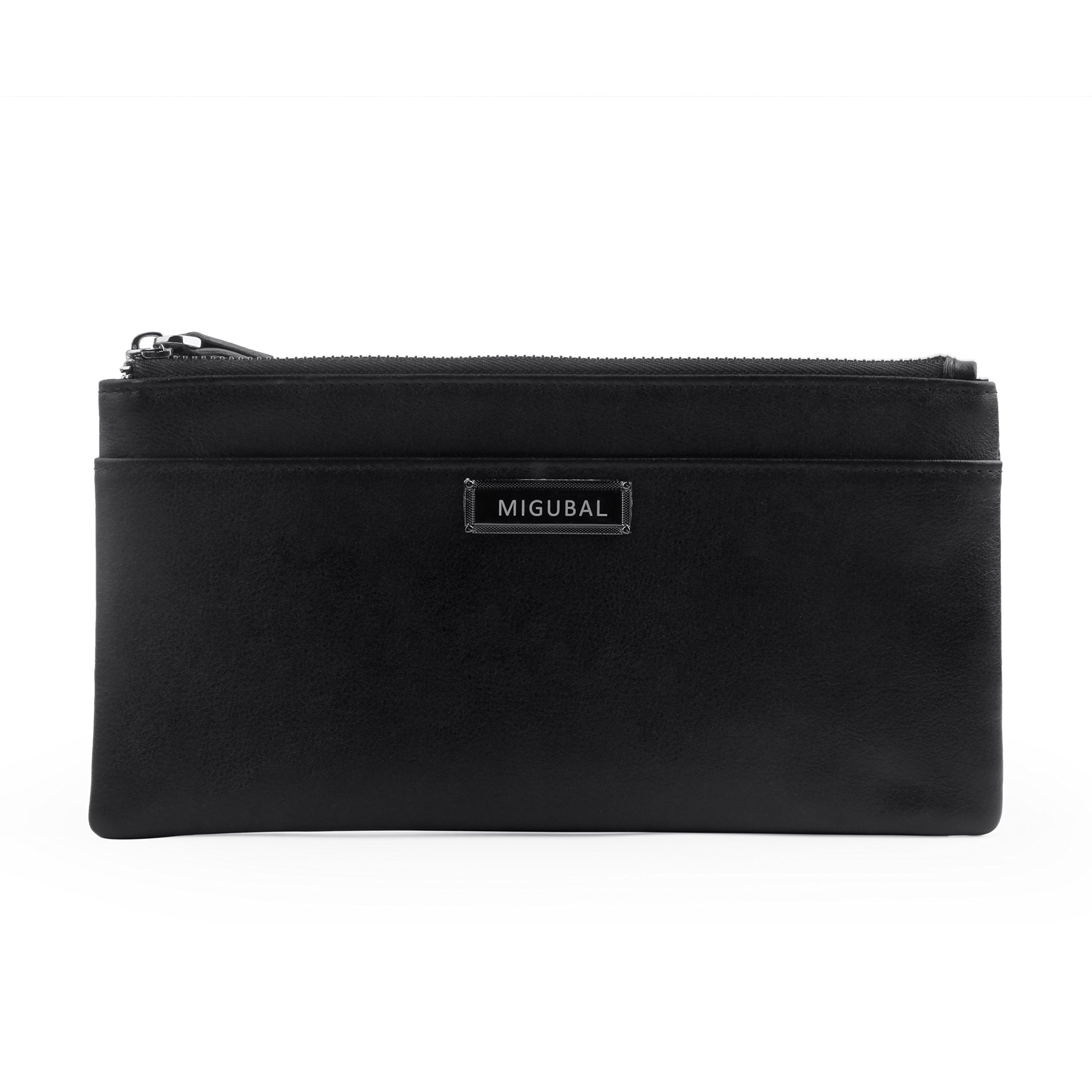 Migubal PU Leather Coin Purses For Men Women