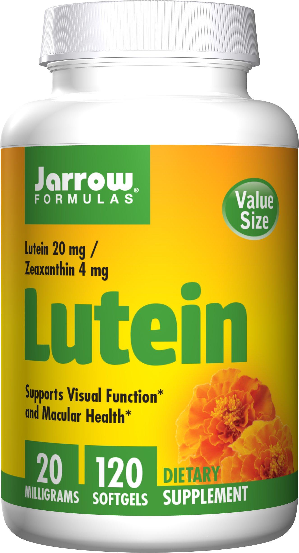 Jarrow Formulas Lutein, Supports Vision and Macular Health, 20 mg, 120 Softgels by Jarrow Formulas