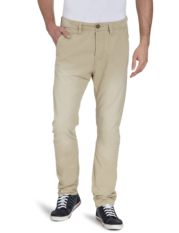 TOM TAILOR Men's Trousers Denim / 64003080012 skinny relax chino