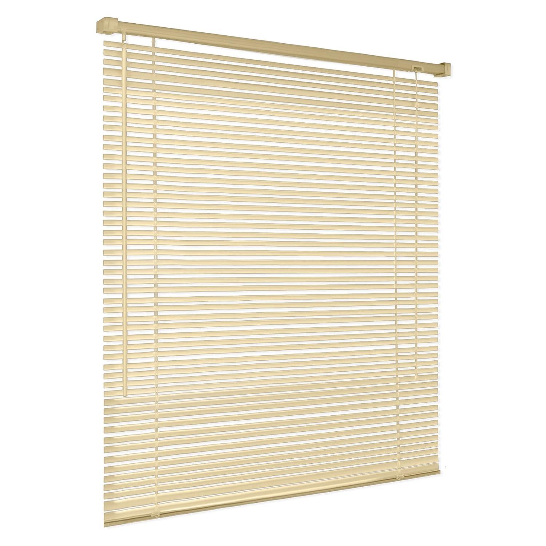 casa pura® Venetian Blind, Jalousie Vista - Beige (55 x 130 cm) | Fully Adjustable, 16 Sizes Available