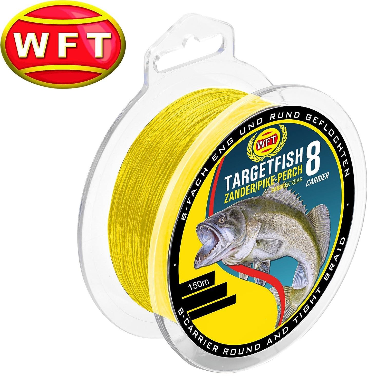 WFT TF8 Zander yellow 150m 8Kg 0,12mm