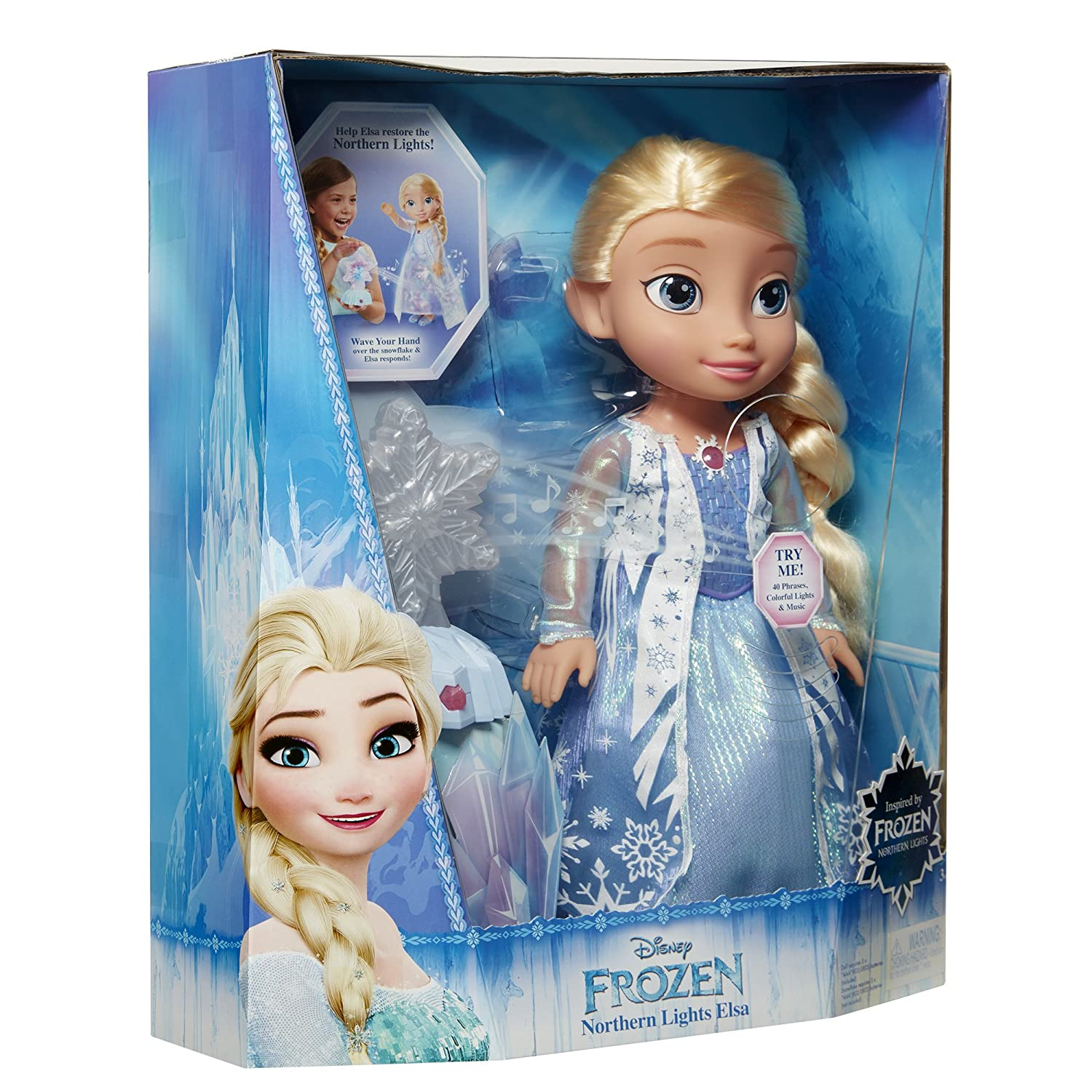 81l29PLCh8L._SL1500_ amazon com frozen northern lights elsa doll toys & games AC Electrical Wiring Diagrams at mr168.co