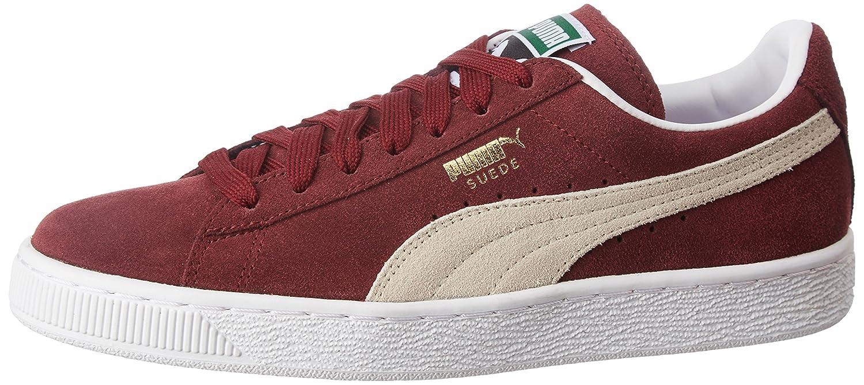 Puma Suede Classic+, Herren High-Top Sneaker  44.5 EU|Cabernet/White