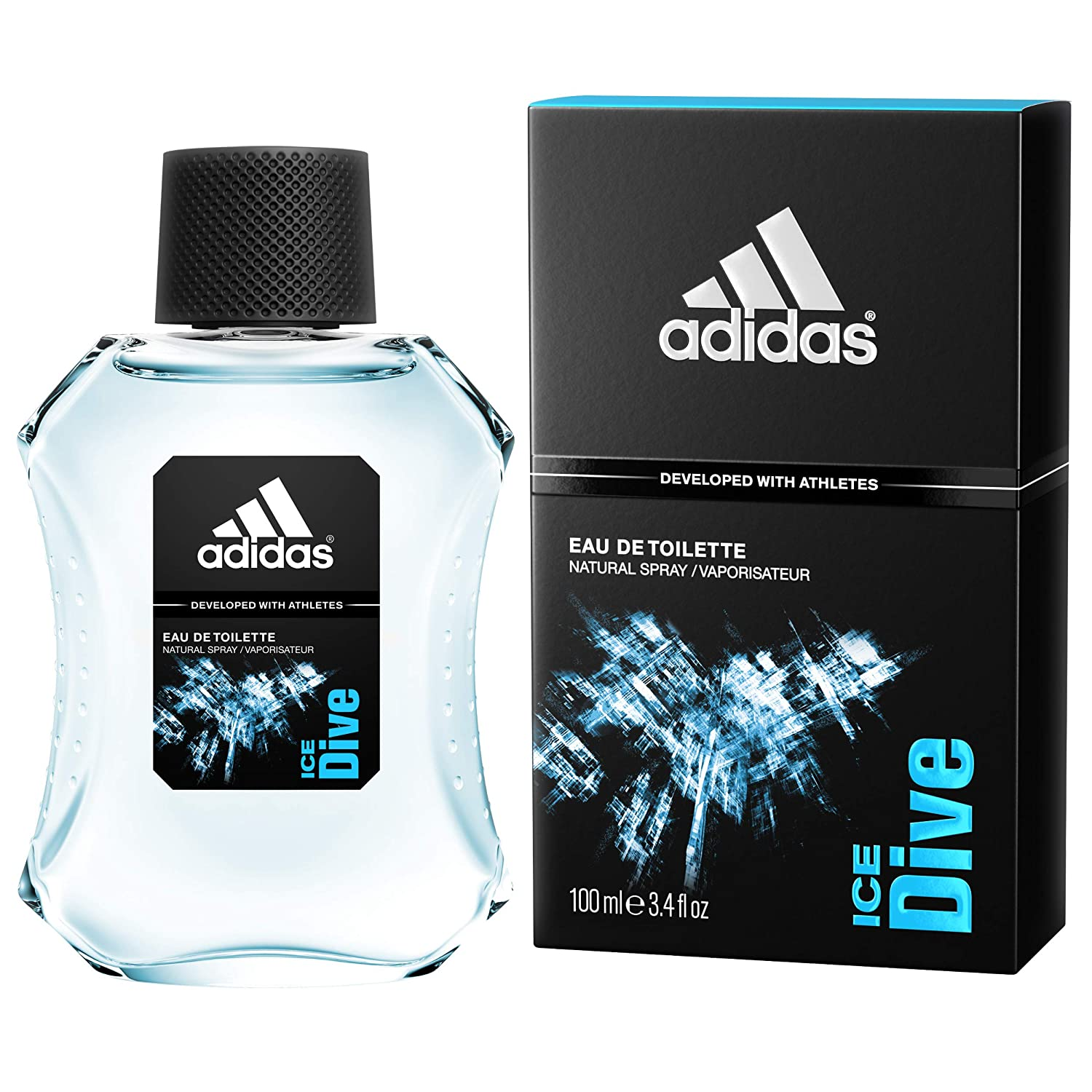 detailing 72f78 c0b3c Buy Adidas Ice Dive Eau De Toilette For Men, 100ml Online at Low Prices in  India - Amazon.in