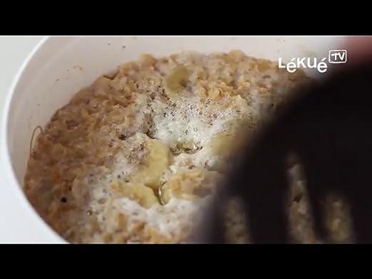 Lékué - Recipiente para cocinar Cereales: Amazon.es: Hogar