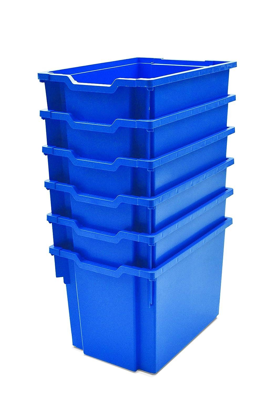 Gratnells Jumbo - Bandeja de almacenamiento de plástico reciclable ...