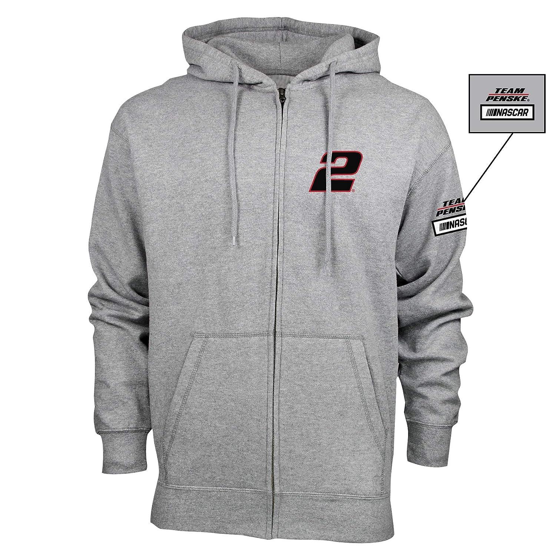 Premium Heather S NASCAR Penske Racing Brad Keselowski Mens M Benchmark FZ HoodM Benchmark FZ Hood