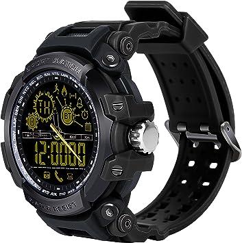 Smartwatch Bluetooth, Reloj inteligente con cámara de fotos, Smart ...