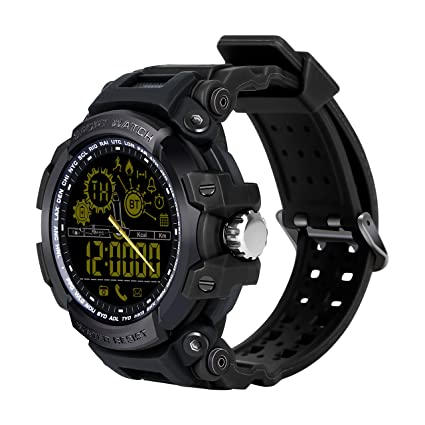 Smartwatch Bluetooth, Reloj inteligente con cámara de fotos, Smart Watch recibe información de notificaciones