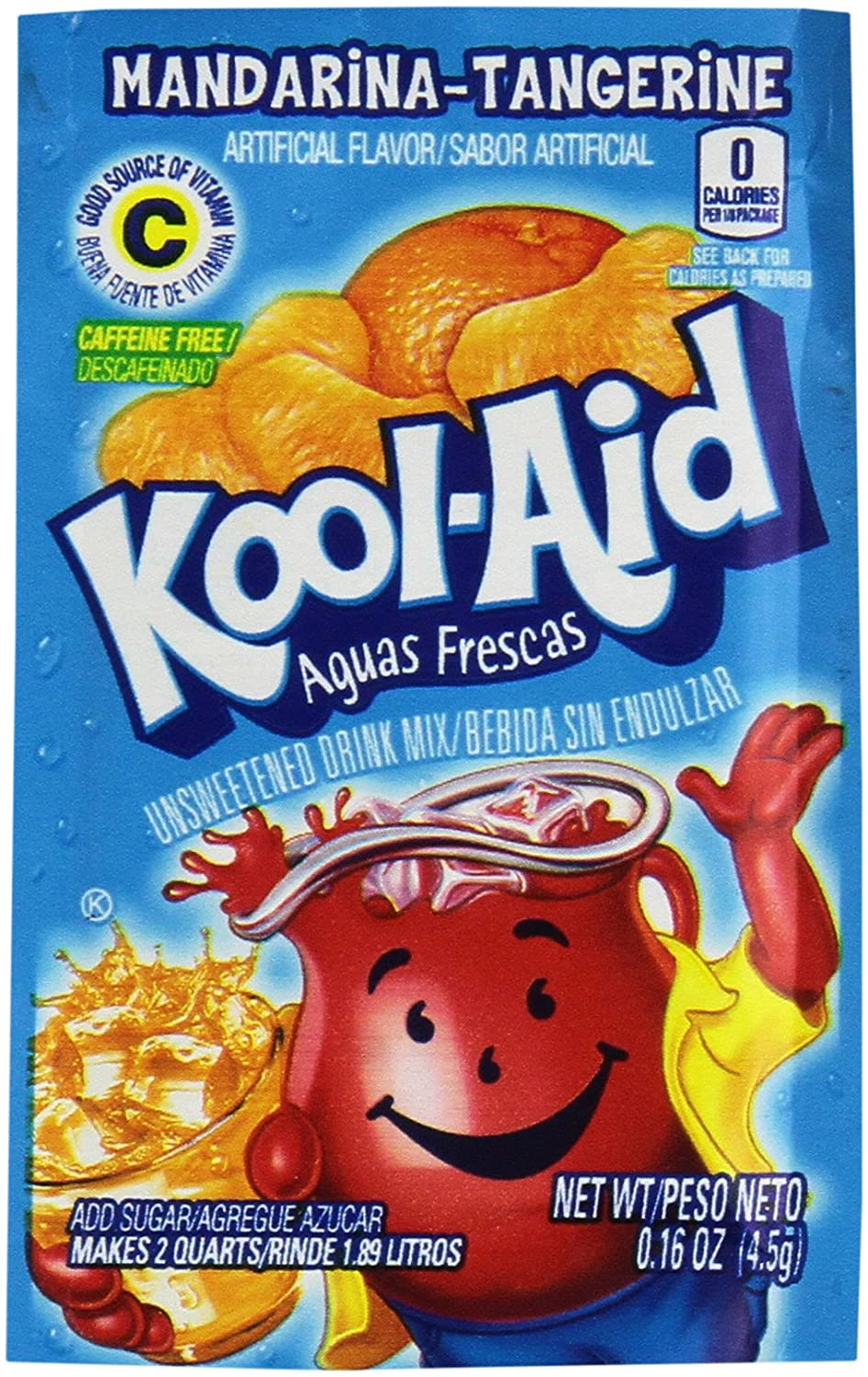 Amazon.com : Kool Aid Mandarina Tangerine 48 Count : Powdered Soft Drink Mixes : Grocery & Gourmet Food