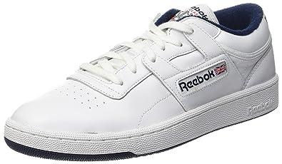 Reebok Club Workout CB, Zapatillas de Gimnasia para Hombre, Blanco (Bianco), 39 EU