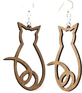 product image for Cat Outline Earrings