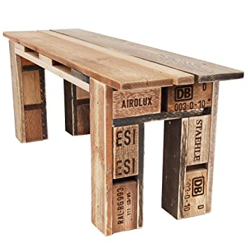 Amazon De Palettenmobel Bank Sitzbank Bench Aus Ippc