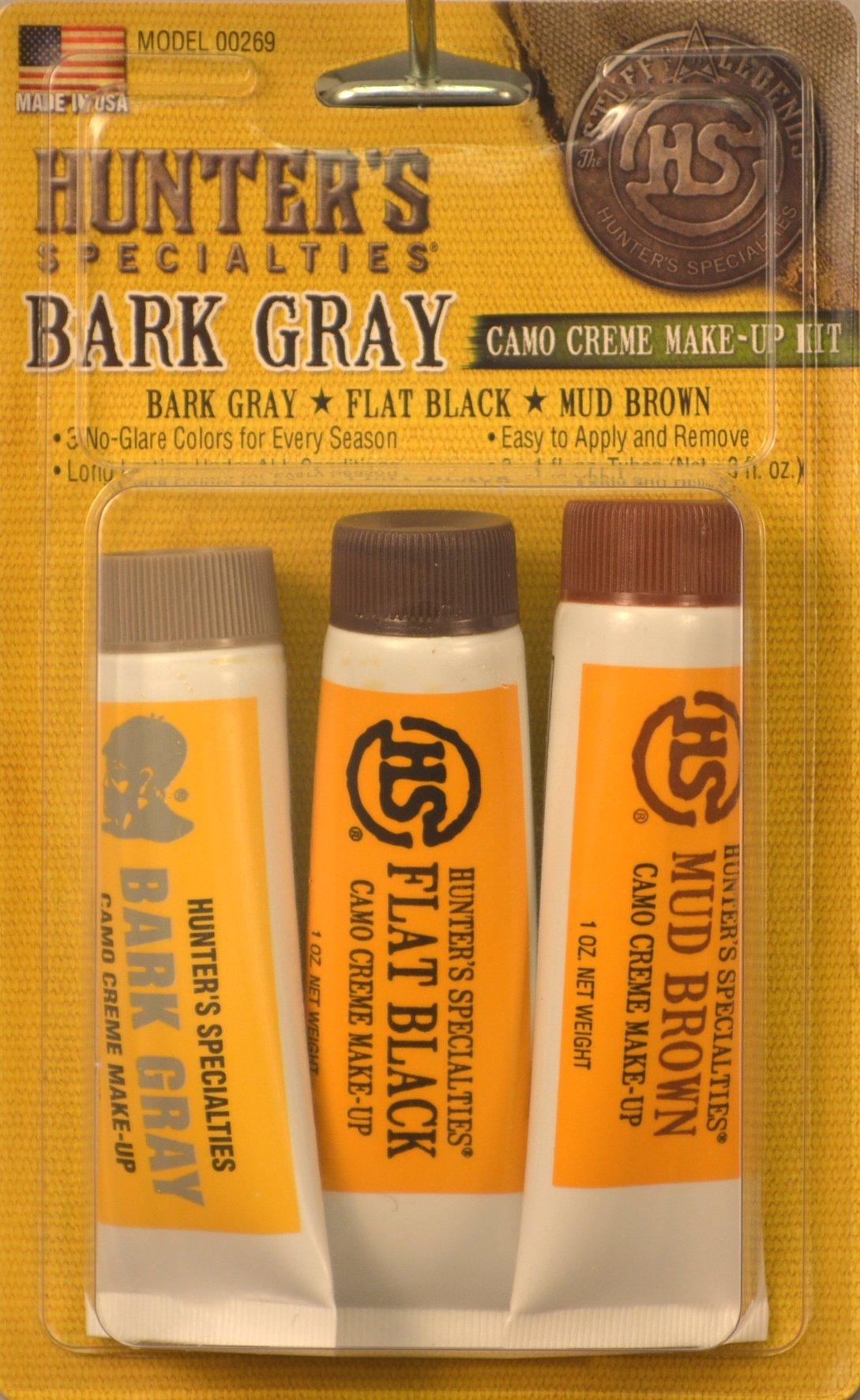Hunters Specialties Creme Tube Makeup Kit (Gray Camo)