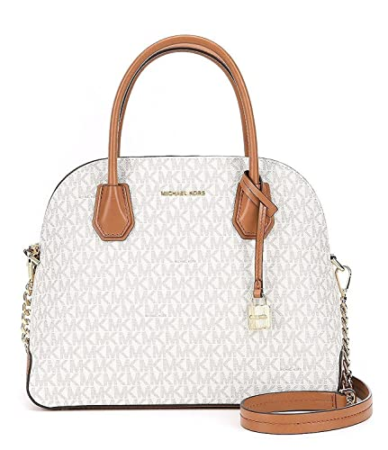 ef10846380d9 Image Unavailable. Image not available for. Color  MICHAEL Michael Kors  Women s Mercer Signature Large Dome Satchel