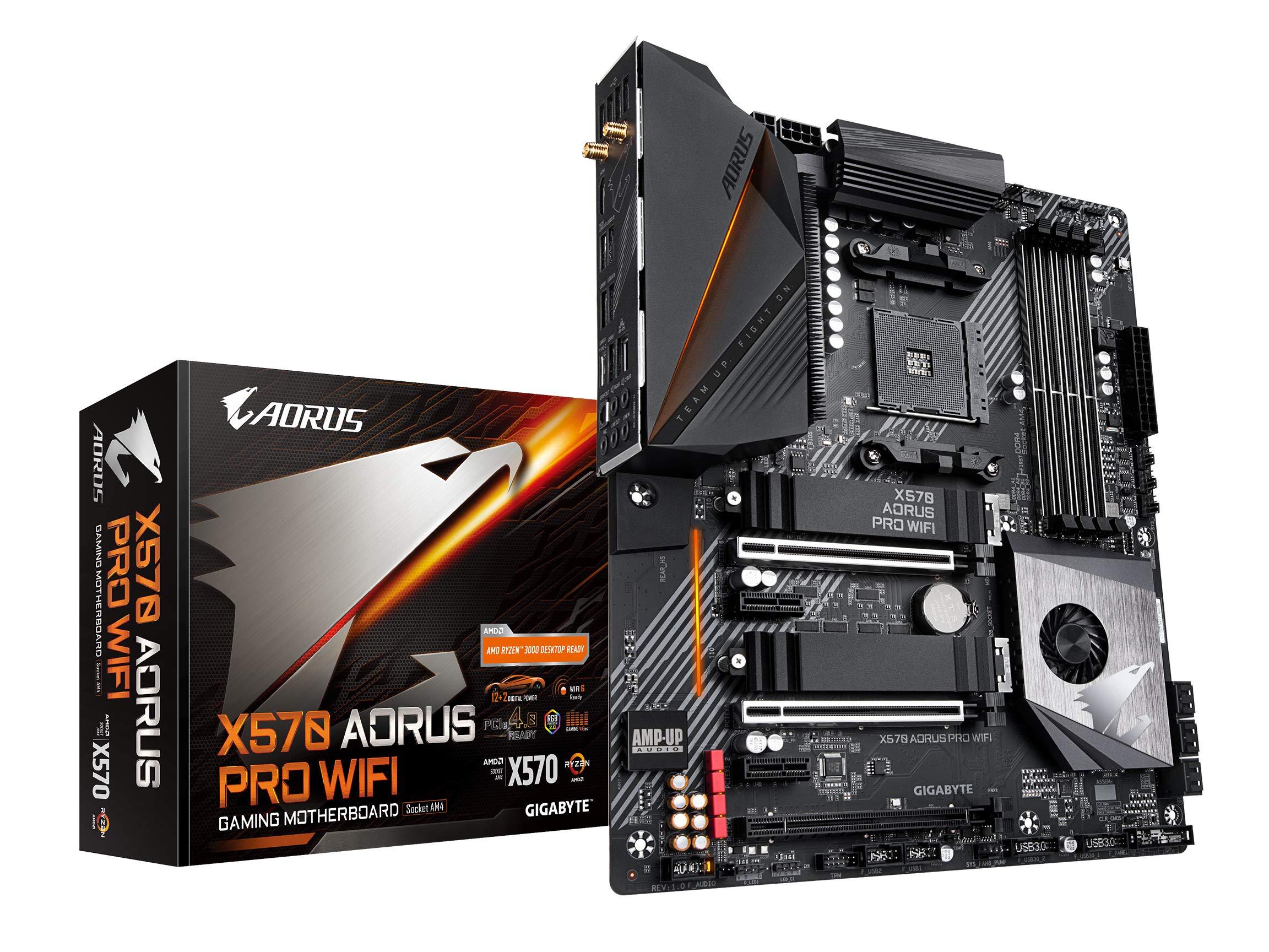 Gigabyte X570 Aorus Pro Wifi (amd Ryzen 3000/x570/atx/pci...