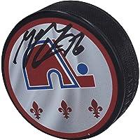 $59 » Mikko Rantanen Colorado Avalanche Autographed Reverse Retro Logo Hockey Puck - Autographed NHL Jerseys